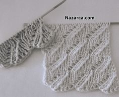 Stitch Patterns, Crochet Patterns, Knitting Videos, Sweater Knitting Patterns, Etsy Handmade, Crochet Stitches, Needlework, Free Pattern, Knitwear