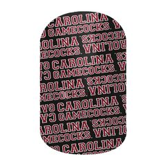 South Carolina Gamecocks nail wraps by Jamberry Nails Sorority Nails, College Sorority, University Of South Carolina, South Carolina Gamecocks, College Nails, Go Gamecocks, Spirit Finger, Nail Art, Jamberry Nail Wraps