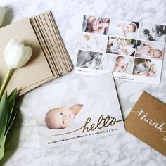 "Minted (@minted) auf Instagram: ""The happiest of hellos. Introduce your little one to the world with a unique birth announcement…"""