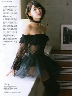 "HKT48 Sakura Miyawaki ""Zenryaku Tabisaki yori"" on Entame Magazine"