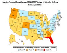 REALTORS®' Price Expectations By State | Realtor Magazine