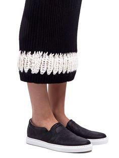 Calvin Klein Collection - Long Knit Perseus Skirt