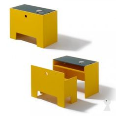 Richard Lampert Wonder Box - kids table and chair