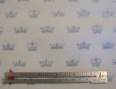 Send In The Crowns by Michael Miller - 1 Yard for 8.95 Dollars. $8.95, via Etsy.