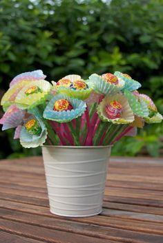 chupa chups bloemen! leuk!
