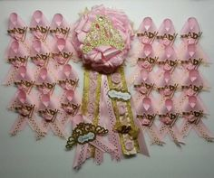 Princess Corsage Princess Baby Shower Princess Mommy Pin At  FourDOLLYSboutique
