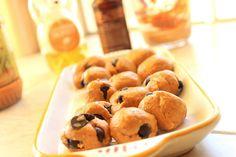 PB chocolate chip oatmeal balls
