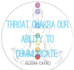 5. Throat Chakra - Our ability to communicate.