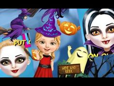 """Sweet Baby Girl Halloween """"Unlock All"""" Android İos  Free Game GAMEPLAY V..."""