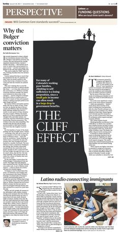 Sunday, August 8, 2013 Denver Post Perspective cover.