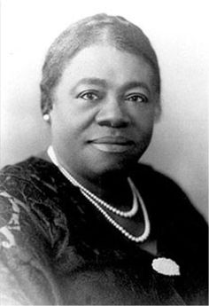 Mary McCleod Bethune was a lifelong educator and civic leader.