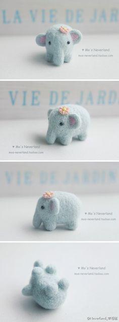 蓝色的小象…_来自东南枝吱吱吱吱吱吱的图片分享-堆糖网