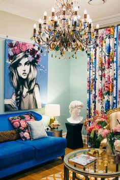 modern interior decorating ideas and bright room colors
