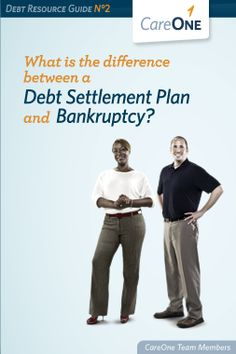 We just released a new guide today to help consumers understand the difference between debt settlement & bankruptcy. Please check it out and let us know what you think!