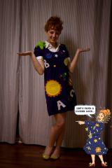 Mrs Frizzle costume