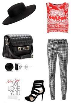 Feels like the real thing by jbanna on Polyvore featuring polyvore, fashion, style, Kenzo, Allurez, Proenza Schouler and VIVETTA