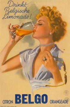 Drinkt belgische limonade ! citron Belgo orangeade -