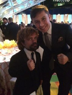 Peter Dinklage and Gennady Golovkin
