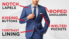 Ultimate Guide To Buying A Custom Suit Online (EASY Step By Step Process) Next Suits, How To Look Better, That Look, Silk Coat, Double Breasted Suit, Step Guide, Perfect Fit, Personal Style, Suit Jacket