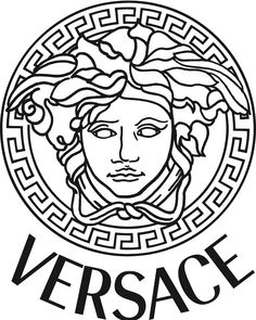 Didnt came across my mind of Versace being a greek logo until I notice the greek key motif! And Versace is one of my fave influencers!  3. b) Versace logo heavily influenced by greek statuettes and coin portraits.
