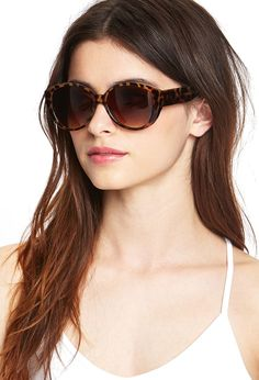 Easy Cat-Eye Sunglasses | FOREVER21