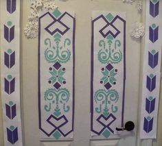 The Enchanted Tree: Elsa's Door Paper Craft Tutorial (Frozen Inspired)