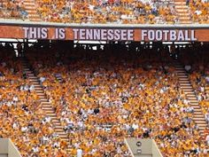 Tennessee is officially on UPSET WATCH as they remain ahead by one score with less than a minute left in the game. Tennessee Volunteers Football, Tennessee Football, University Of Tennessee, East Tennessee, College Game Days, College Football, Vol Nation, Neyland Stadium, Tn Vols