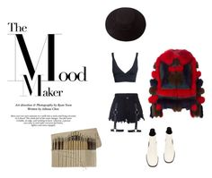 """""""Untitled #268"""" by astrro on Polyvore featuring TIBI, Brixton, Sacai, women's clothing, women's fashion, women, female, woman, misses and juniors"""