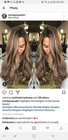Hair Color 2018, Hair Color And Cut, Balage Hair, Bad Hair, Winter Hairstyles, Cool Hairstyles, Brunette Hair, Blonde Hair, Cabelo Ombre Hair