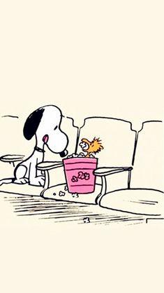 画像 Peanuts Cartoon, Peanuts Snoopy, Snoopy Love, Snoopy And Woodstock, Snoopy Wallpaper, Iphone Wallpaper, Snoopy Videos, Iphone Background Disney, Popcorn Times