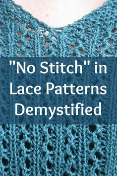 What Does Knit Up Stitches Mean : 1000+ images about Lace Knitting on Pinterest Knitting daily, Lace knitting...