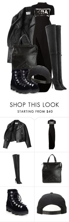 """Untitled #362"" by deaja-xx ❤ liked on Polyvore featuring Acne Studios, Hood by Air, Tamara Mellon, Vlieger & Vandam and Alexander Wang"