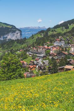 Lauterbrunnen, Switzerland - The Overseas Escape-52 Top Travel Destinations, Places To Travel, Places To Visit, Jazz Festival, Beautiful Places In The World, Places Around The World, Switzerland Wallpaper, Surf, Solo Travel