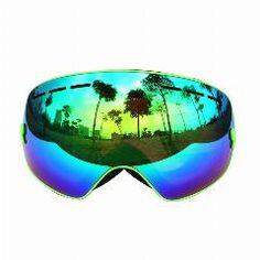 COPOZZ sunglasses ski goggles men and women spherical double anti-fog ski goggles cocker myopia professional Skiing Glasses Snowboard Goggles, Ski Goggles, Ski And Snowboard, Ski Gear, Snowboarding Gear, Beach Volleyball, Mountain Biking, Mountain Gear, Mountain Climbing