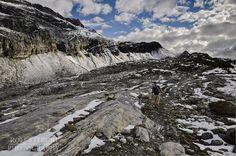 Aufstieg durch das Lämmerental zur Roten Totz-Lücke