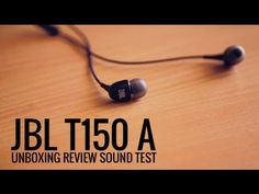 Unboxing video of JBL T150A in ear headphones. Product link ( http://www.amazon.in/gp/product/B00OO... ) If you have any questions comment below. if you like this video, Subscribe for more ! Thanks for watching !