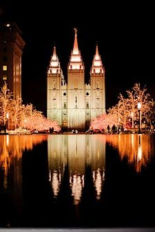 Salt Lake City LDS Temple... If I get married again, I would love it to be here! A lot of my Ancestors were married hre as well, So beautiful and Peaceful.