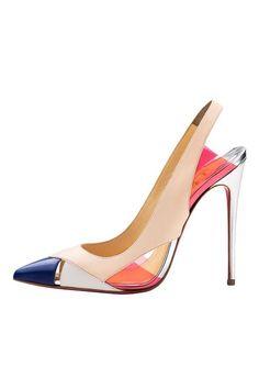 Trendy High Heels For You : Christian Louboutin ~ Women's Shoes – 2014 Spring-Summer. Zapatos Shoes, Women's Shoes, Me Too Shoes, Shoe Boots, Shoes Style, Flat Shoes, Pretty Shoes, Beautiful Shoes, Cute Shoes
