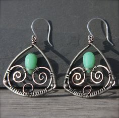 Pan's Labyrinth Earrings oOo Sterling Copper by AlaskaFirefly