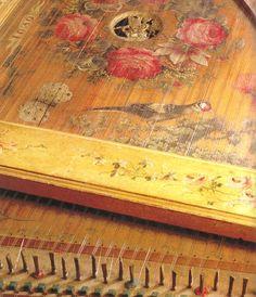 17th Century Harpsichord-Detail
