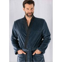 Buy Cawö Mens soft Terry Bathrobe Long Luxury Kimono model Online aa0a5b3c3