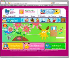 Noggin website