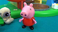 Peppa Pig in english. YooHoo visits Peppa Pig and George. Peppa and her ...