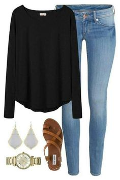 Look at our very easy, comfortable & just cool Casual Outfit ideas. Get motivated with one of these weekend-readycasual looks by pinning one of your favorite looks. casual outfits for work Mode Outfits, School Outfits, Casual Outfits, Fashion Outfits, Womens Fashion, Teacher Outfits, Casual Dresses, Club Outfits, Club Dresses