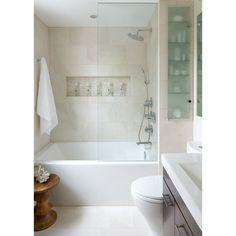 Bathroom shower screens Bathroom Design ideas 2017 ❤ liked on Polyvore featuring home, bed & bath, bath, bath accessories and shower bath accessories