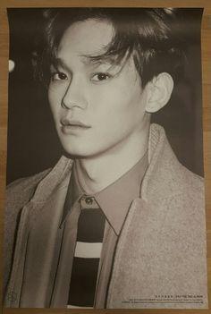 "EXO ""EXODUS"" CHEN Official Poster 2nd Album Tube Case Unfolded"