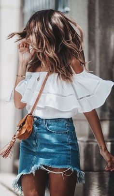 Stunning 42 Lovely Summer Outfit Ides to Upgrade Your Look