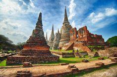 Wat Phra Si Sanphet – Ayutthaya, Thailand by Sunny Merindo