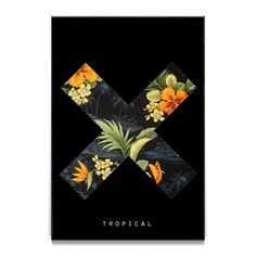 Compre X Tropical de @samirfx em posters de alta qualidade. Incentive artistas independentes, encontre produtos exclusivos.