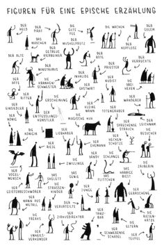 This makes me wish I taught creative writing.Fun creative writing- characters you need for an epic tale by tom gauld. students choose one, three, ten -- then write! Book Writing Tips, Writing Resources, Writing Help, Writing Skills, Short Story Writing, Literacy Skills, Writing Process, Start Writing, Writing Services